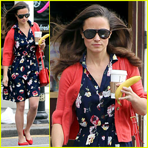Pippa Middleton: Starbucks Stop in London!