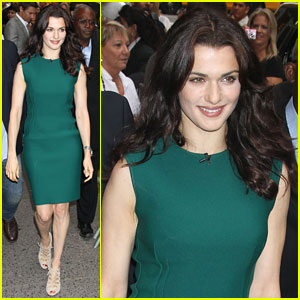 Rachel Weisz: 'Good Morning America' with Jeremy Renner!