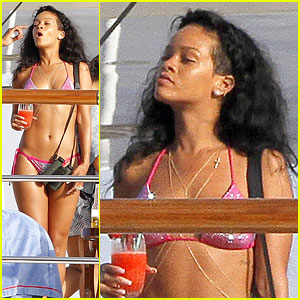 Rihanna's Party on Yacht Shut Down By Police?