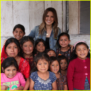 Mark Foster: $10K for Sophia Bush's Birthday Wish!