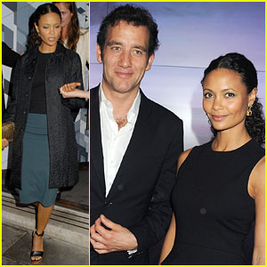 Thandie Newton: Audi City Launch with Clive Owen!