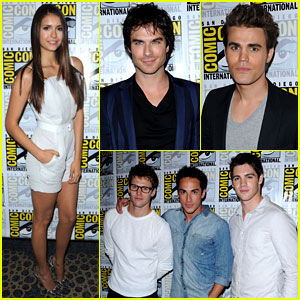 Nina Dobrev & 'Vampire Diaries' Cast: Comic-Con Panel!