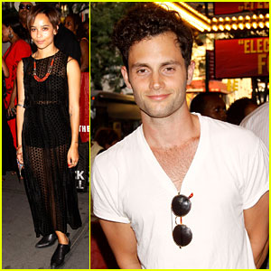 Zoe Kravitz & Penn Badgley: 'Fela!' Broadway Opening!