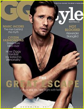 Alexander Skarsgard Covers 'GQ Style Australia'