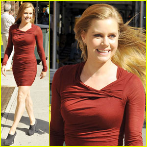 Amy Adams: Master-ful 'Late Show' Arrival