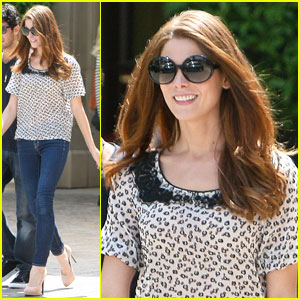 Ashley Greene: Fashionably Chic at Montage Hotel