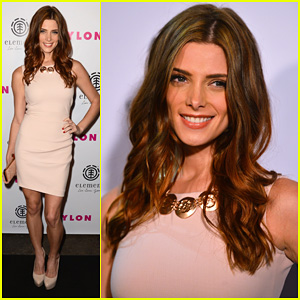 Ashley Greene: Nylon Cover Party!