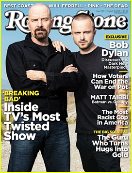 Bryan Cranston & Aaron Paul Cover 'Rolling Stone' August 2012!