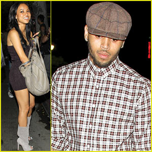 Chris Brown: Supperclub Night Out with Karrueche Tran!