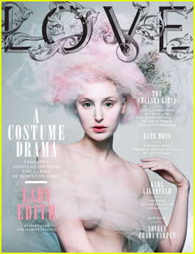 'Downton Abbey': 'Love' Magazine Takeover!