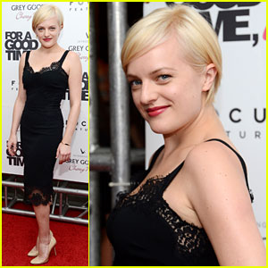 Elisabeth Moss Debuts New Short Blonde Hair!