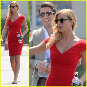Emily VanCamp & Josh Bowman: Formal for 'Revenge!'