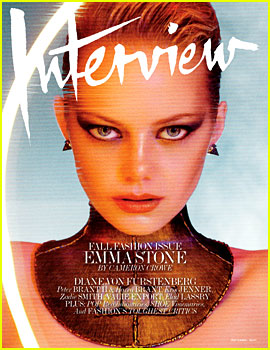 Emma Stone Covers 'Interview' Magazine September 2012