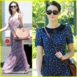 Emmy Rossum: Autumn Is My Favorite Fashion Season!