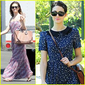 Emmy Rossum: Autumn Is My Favorite Fashion Season!