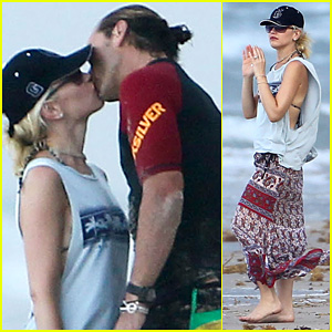 Gwen Stefani & Gavin Rossdale: Palm Beach Kisses!