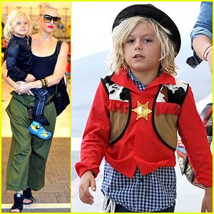 Gwen Stefani: Halloween Shopping with Kingston & Zuma!
