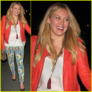 Hilary Duff: Birthday Bash with Mike Comrie!