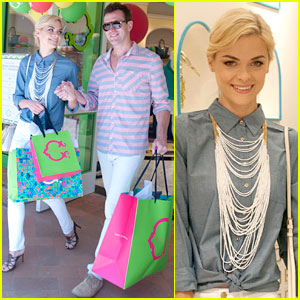 Jaime King: C. Wonder Fashion Island Store Opening!