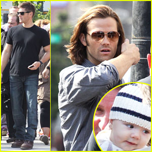 Jared Padalecki: 'Supernatural' Set Visit from Thomas!
