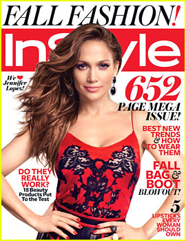 Jennifer Lopez Covers 'InStyle' September 2012