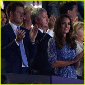 Duchess Kate & Prince Harry: Olympics Closing Ceremony!