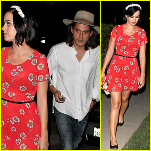 Katy Perry & John Mayer: House Party Pair!