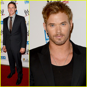Kellan Lutz & Ryan Lochte: WWE SummerSlam Kick-Off Party!