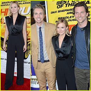 Kristen Bell & Dax Shepard: 'Hit & Run' Premiere