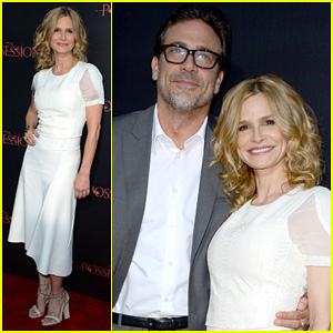 Kyra Sedgwick: 'Possession' Premiere with Jeffrey Dean Morgan!