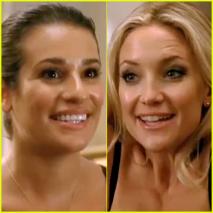 Lea Michele &#038; Kate Hudson: 'Glee' Season 4 Promo!