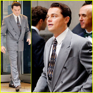 Leonardo DiCaprio: 'The Wolf of Wall Street' Set