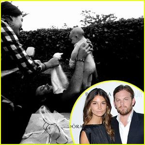 Lily Aldridge &#038; Caleb Followill Debut Baby Dixie Pearl