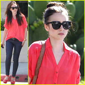 Lily Collins: 'Mortal Instruments' Cast Shapes Up!