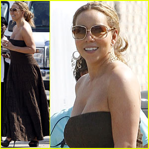 Mariah Carey: 'The Butler' Set!