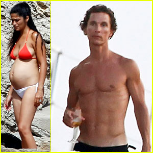 Matthew McConaughey &#038; Camila Alves: Ibiza Vacation!