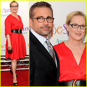 Meryl Streep: 'Hope Springs' Premiere with Steve Carell!