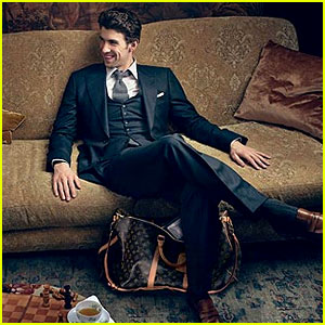 Michael Phelps: Louis Vuitton Core Values Campaign!