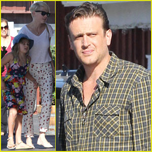 Michelle Williams & Jason Segel: Caffe Luxxe with Matilda!