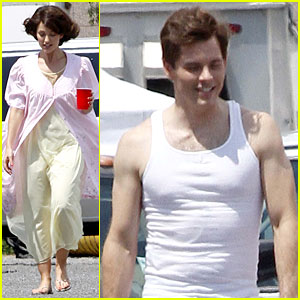 Minka Kelly as Jackie Kennedy - First Look!