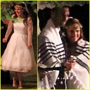 Natalie Portman Wedding Pictures - First Look!