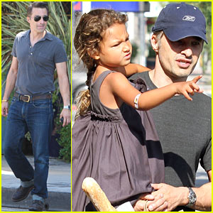 Olivier Martinez & Nahla: Weekend Shopping Trip!