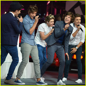 One Direction: Olympics Closing Ceremony Performance - Watch Now!