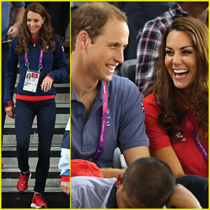 Prince William &#038; Duchess Kate: Paralympics Spectators!