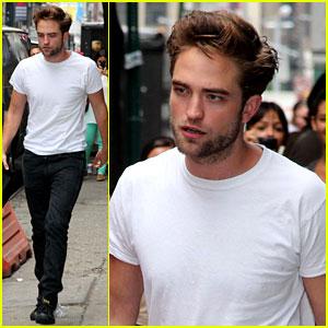 Robert Pattinson 'Meet's the Press with David Cronenberg