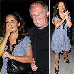 Salma Hayek: Dinner Date with Francois-Henri Pinault!