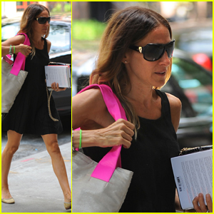 Sarah Jessica Parker: Gearing Up for 'Glee!'