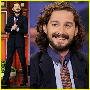 Shia LaBeouf: 'Tonight Show with Jay Leno' Appearance!