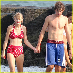 Taylor Swift: Bikini Day with Shirtless Conor Kennedy!