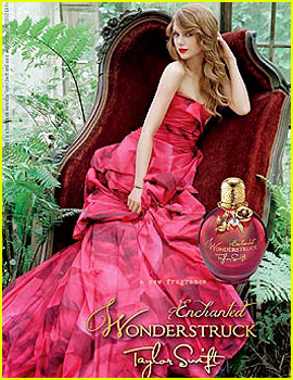 Taylor Swift: 'Wonderstruck Enchanted' Fragrance Ad!